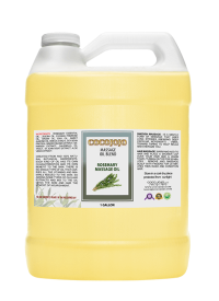 rosemary massage oil mixture gallon blend 128 oz