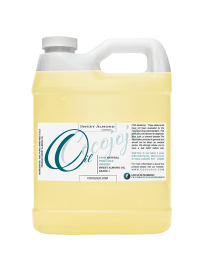 sweet almond oil 100% pure cold pressed