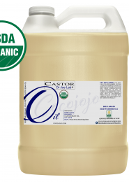 Certified Organic Castor Oil – Cold Pressed