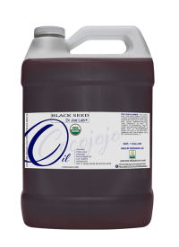 usda certified organic black seed gallon