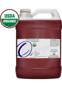 USDA Certified Organic Vitamin E oil