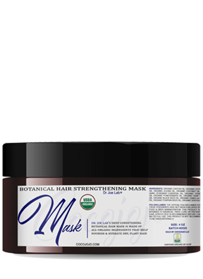 Botanical hair strengthening mask
