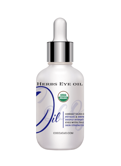 usda certified organic botanical herbs eyes oil